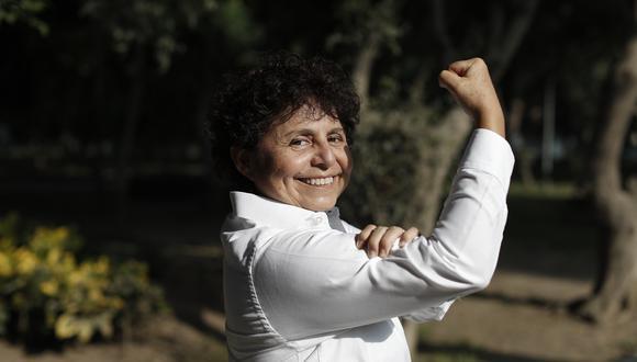 Susel Paredes participará en las elecciones internas del Partido Morado encabezando la lista de precandidatos al Congreso por Lima (Foto: César Campos/El Comercio).