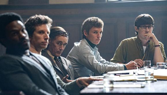 """Netflix acaba de estrenar el tráiler final de la película """"El Juicio de los 7 de Chicago"""" . (Foto: Netflix)"""