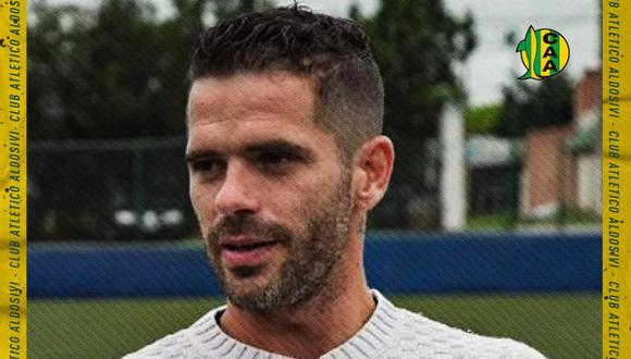 Fernando Gago es el nuevo entrenador de Aldosivi. (Foto: @clubaldosivi)