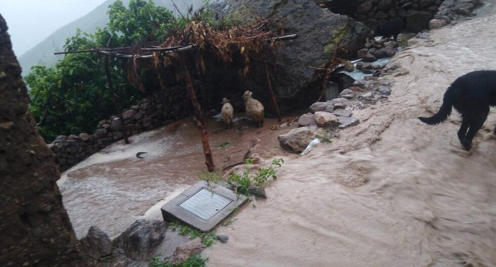 La localidad más afectadas en la provincia de La Unión fue Tauria. (Foto: COER Arequipa)