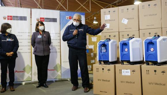 Minsa distribuirá 1210 concentradores de oxígeno a comunidades indígenas de : Loreto, Ucayali, Junín, Amazonas, Cusco, San Martín, Pasco, Madre de Dios y Huánuco. (Foto Minsa)