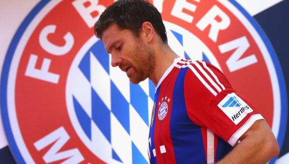 "Xabi Alonso: ""Bayern Múnich ha sido un gran paso en mi carrera"""