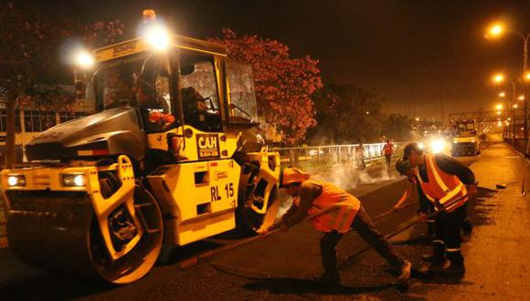 Lima terminó de asfaltar tramo de la avenida Colonial