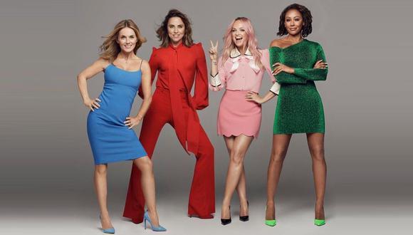Victoria Beckham le desea suerte a las Spice Girls antes del inicio de su gira por Reino Unido. (Foto: @spicegirls)