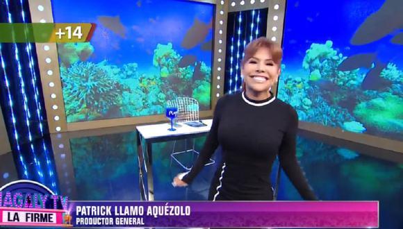 Magaly Medina regresó a la televisión tras vencer el coronavirus. (Foto: Captura ATV)