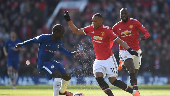 Manchester United choca con el Chelsea esta mañana (9:05 a.m. EN VIVO ONLINE EN DIRECTO por ESPN) por la Premier League. (Foto: AP)