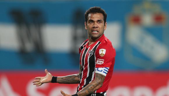 Sao Paulo, dirigido por Hernán Crespo, continúa sin conocer la victoria en el Brasileirao 2021. (Foto: AFP)