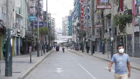 Este miércoles 24 de febrero se decidirá si se extiende o no la cuarentena en Lima y provincias con riesgo sanitario extremo   (Foto: Hugo Pérez / GEC)