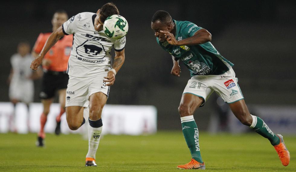 Pumas vs. León: las imágenes de la final de ida en el Estadio Olímpico Universitario | Foto: AP