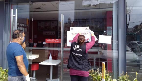 La Municipalidad de Pueblo Libre aplicó una multa de 860 soles al local de KFC. (Difusión)
