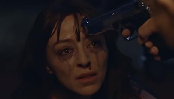 Silvia le hace creer a Manín que tiene una trato con la DEA para entregar a don Edgar (Foto: La reina del flow 2/ Caracol TV)