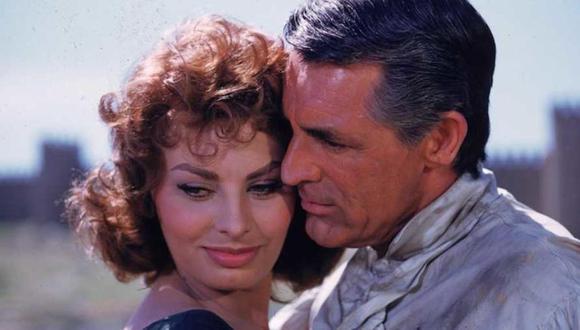 Sophia Loren confiesa que Cary Grant nunca le propuso matrimonio. (Foto: Paramount Pictures)
