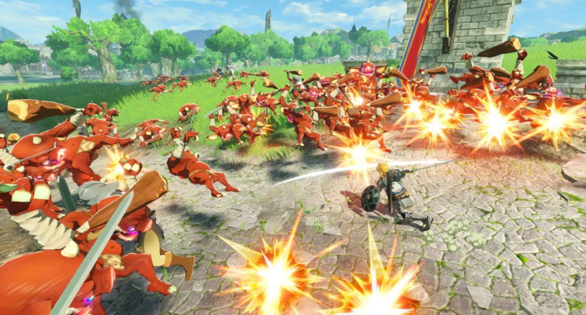 Al ser de tipo Musou, el usuario se verá obligado a enfrentar con uno de estos personajes a grandes hordas de enemigos frenéticamente. (Foto: Nintendo)