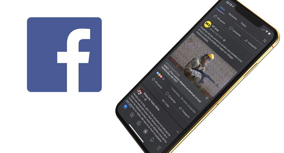 """¡Ya se puede activar el """"modo oscuro"""" de Facebook de forma oficial! Aprende cómo obtenerlo. (Foto: Facebook)"""