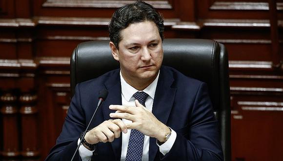 El candidato presidencial del Somos Perú está denunciado por la presunta comisión de colusión grabada, peculado doloso y falsedad genérica. (Foto: El Comercio)