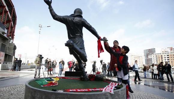 Eusébio será enterrado mañana en Lisboa cerca del estadio del Benfica