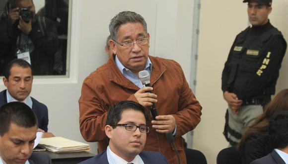 Miguel Facunbdo Chinguel, durante su juicio por el caso 'narcoindultos'. Actualmente cumple prisión por el delito de cohecho. (Foto: Poder Judicial)