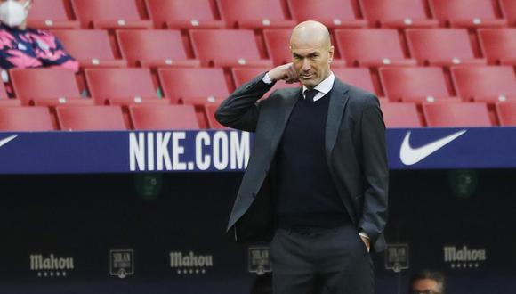 Zidane es entrenador de Real Madrid desde marzo del 2019. (Foto: Reuters)