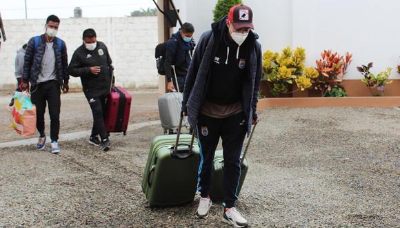 Binacional salió de Juliaca el domingo y llegó a Lima la mañana del lunes. (Foto: Binacional)