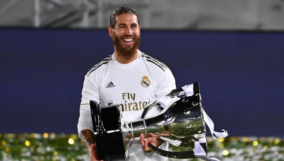 Sergio Ramos anunció el nacimiento de su cuarto hijo. (Foto: AFP)