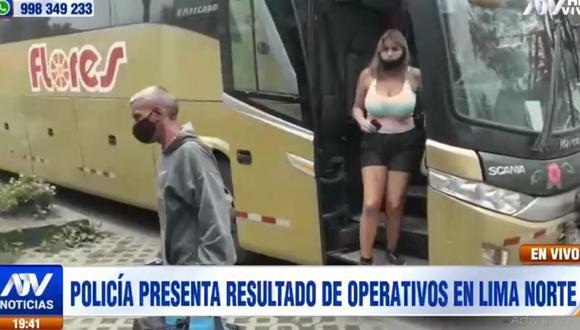 Los venezolanos intervenidos fueron llevados a la Depincri de Puente Piedra. (ATV)