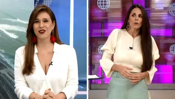 Rebeca Escribens señaló que Verónica Linares está cumpliendo con los protocolos para prevenir un contagio. (Capturas de pantalla).