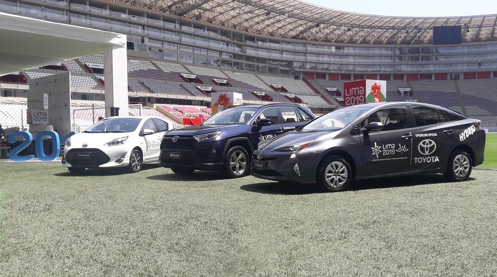Toyota dispondrá una flota de autos híbridos para el traslado de autoridades y atletas durante Lima 2019.  (Fotos: Ruedas&Tuercas).
