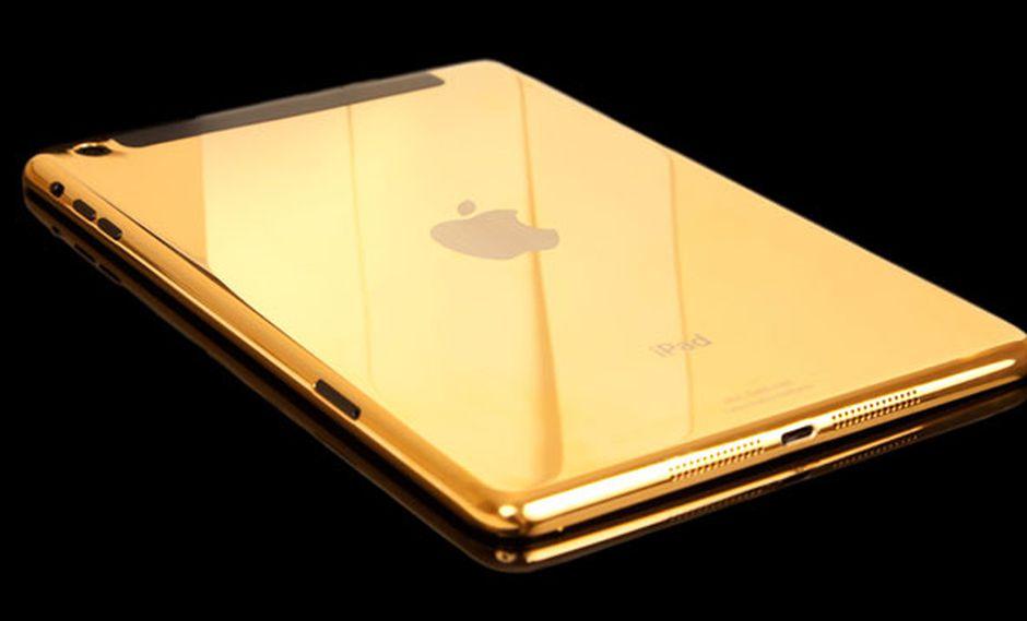 Apple prepara un iPad dorado en busca de aumentar sus ventas