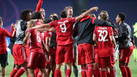 Con un solitario gol del francés Koman, los bávaros se impusieron ante los parisinos en Lisboa. (Foto: Twitter Bayern Múnich)