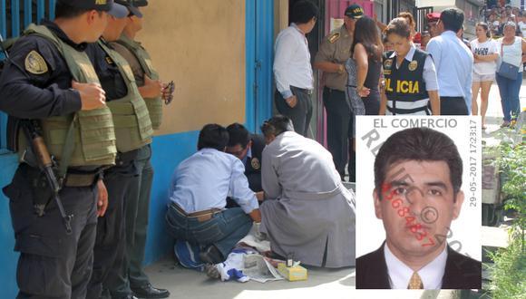 El lunes, Fernando Ruiz del Águila tomó un balde de gasolina y quemó a su ex pareja y a otra mujer en una peluquería de Tarapoto. (Foto: Hugo Anteparra / Reniec)