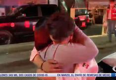 El emotivo encuentro de una madre con su hijo que viajaba en metro que se desplomó en México | VIDEO