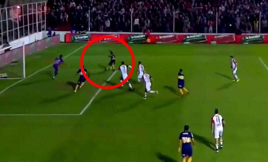 Boca vs. Patronato: Tévez marcó golazo para el 2-0 tras gran asistencia de Fabra en Superliga | VIDEO. (Video: Twitter / Foto: Captura de pantalla)