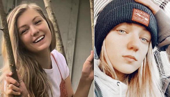Esta combinación de fotos proporcionada por el FBI Denver muestra a Gabrielle Gabby Petito, de 22 años. Ella desapareció mientras realizaba un viaje por Estados Unidos en una van junto a su novio. (Cortesía del FBI Denver vía AP).