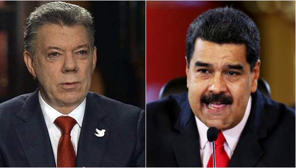 Los momentos de tensión en la llamada entre Maduro y Santos