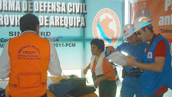 Arequipa: Defensa Civil pide apoyo de voluntarios ante temporada de lluvias