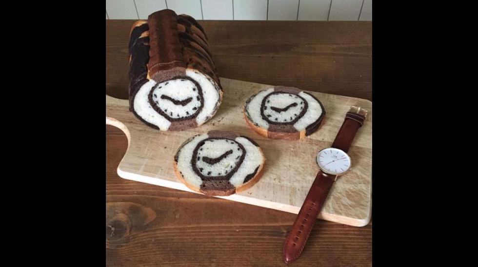 Panadero crea obras de arte con los panes que prepara - 16