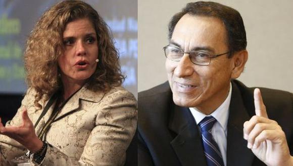 Mercedes Aráoz y Martín Vizcarra integrarán la plancha de PPK