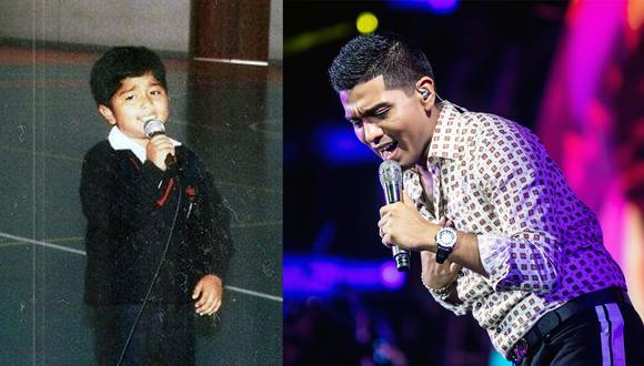 Para Christian Yaipén cantar es una costumbre desde que tiene memoria. A los 5 años ganó su primer concurso y en el colegio era infaltable en las actuaciones (archivo del Grupo 5)