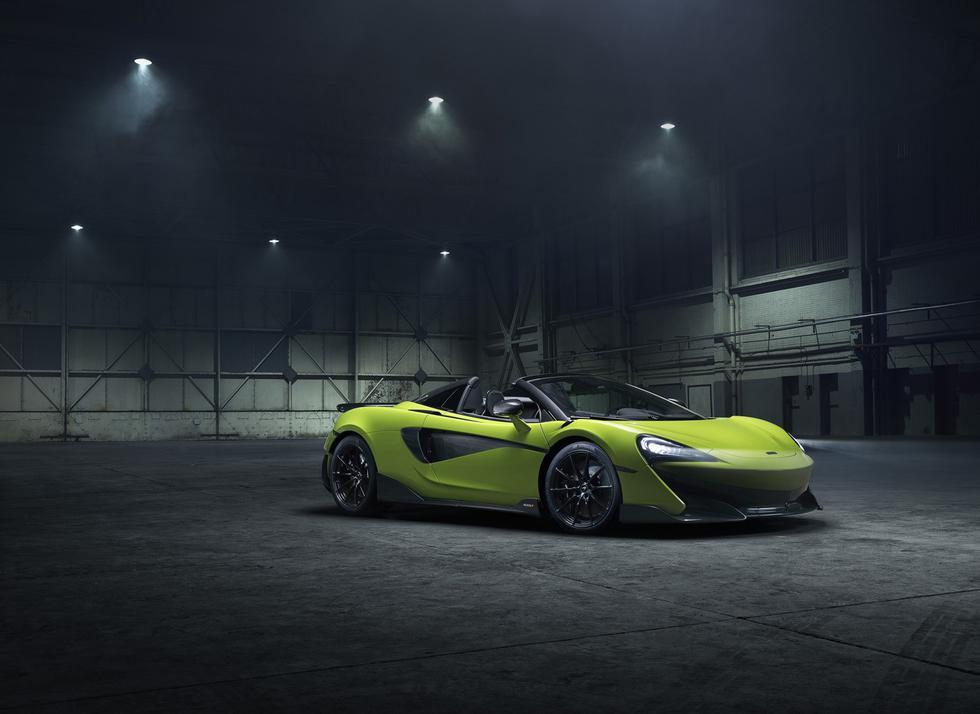 La producción del McLaren 600LT Spider se realizará en la mítica sede de Woking. Cada unidad tendrá un precio de US$ 258 mil. (Fotos: McLaren).