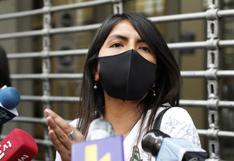 Giulliana Loza: ¿A alguien se le puede ocurrir que Keiko Fujimori siendo candidata se va a fugar del país?