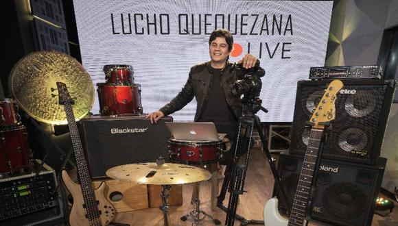 El show de Lucho Quequezana está diseñado para el streaming. (Foto: Facebook oficial)