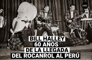 Bill Halley y su llegada con el Rocanrol al Perú, hace 60 años