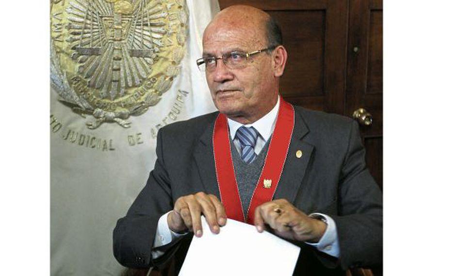 El fiscal supremo provisional Jesús Fernández sustentará la prisión preventiva y la extradición. (Foto: USI)