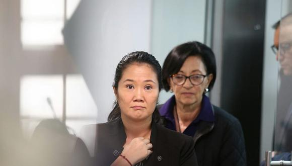 Keiko Fujimori ha asistido a todas las sesiones hasta el momento. (Foto: Alessandro Currarino / El Comercio)