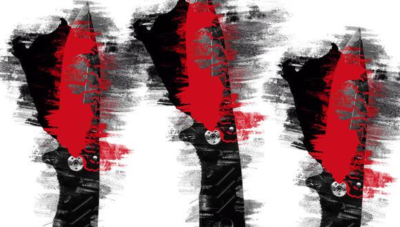"""""""¿Por qué Acción Popular y Alianza para el Progreso se sumaron con sus abstenciones a esta cuchillada artera que se le clava a un país doliente, que lo que menos necesita es más inestabilidad?"""". (Ilustración: Giovanni Tazza)."""