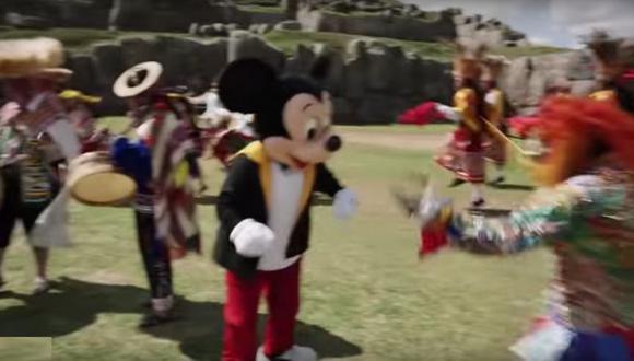 Mickey Mouse cumplió 88 años y lo celebró en el Cusco [VIDEO]