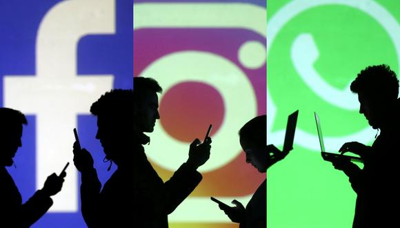 Facebook, Instagram y WhatsApp evidenciaron problemas durante la última hora en sus plataformas. (Reuters).