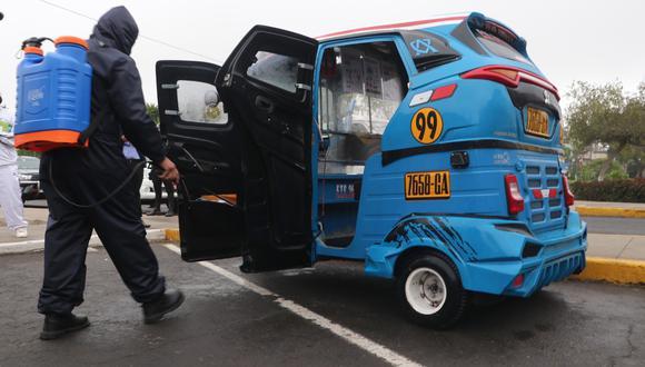 Municipalidad de Santa Anita inició la fiscalización de vehículos menores como mototaxis. (Foto: Difusión)