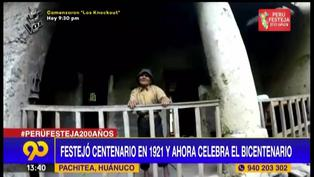 Conoce al hombre que celebró el Centenario y Bicentenario del Perú