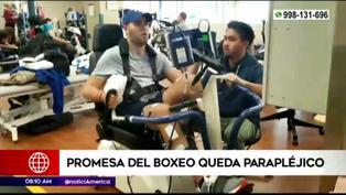 Prichard Colón: promesa del box queda parapléjico tras varios golpes ilegales